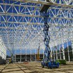 Construcción estructura metálica Bombardier