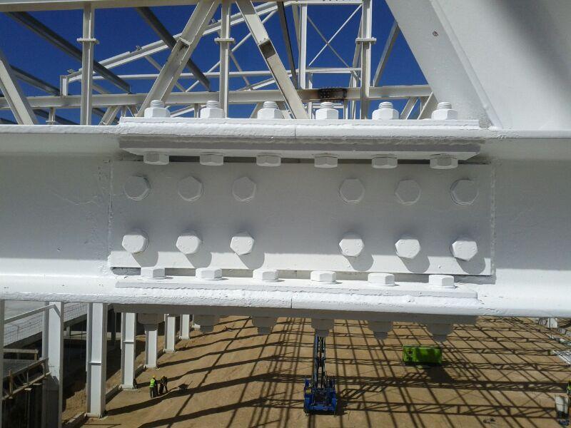 Fabricación estructura metálica Bombardier