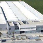 Vista aérea nave industrial Caramelos Cerdán