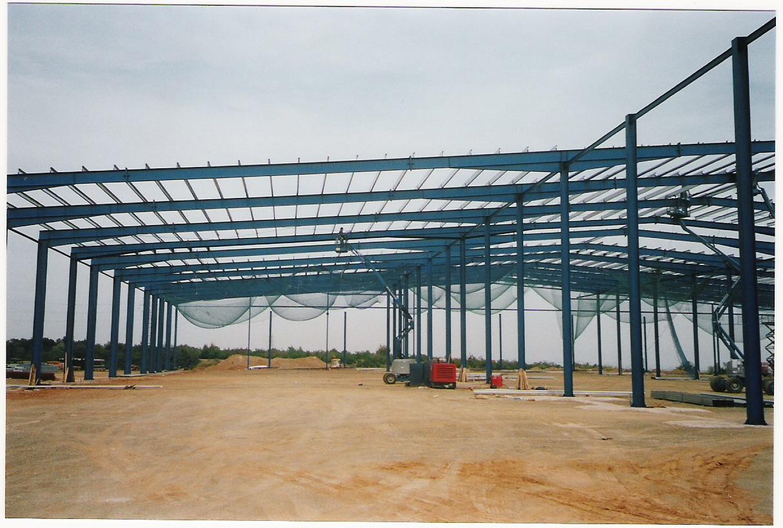 Fabricación estructura metálica supermercado Dia de Tarragona