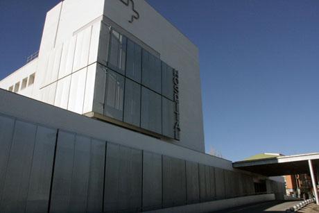 Exterior Hospital de Yecla