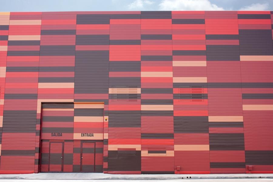 Detalle fachada Ifepa