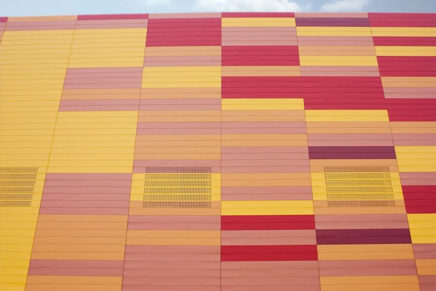 Fachada Ifepa de colores