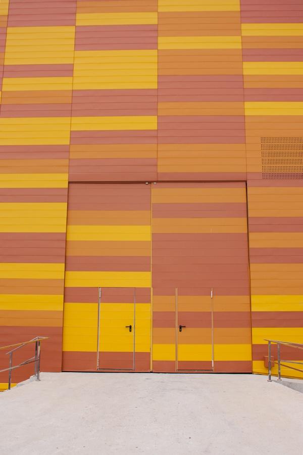 Puertas fachada Ifepa